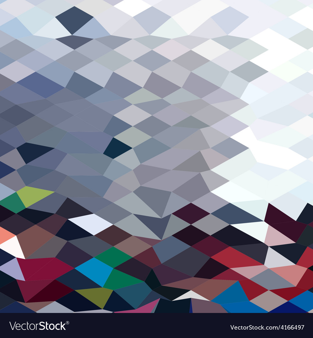 Tidal wave abstract low polygon background vector | Price: 1 Credit (USD $1)