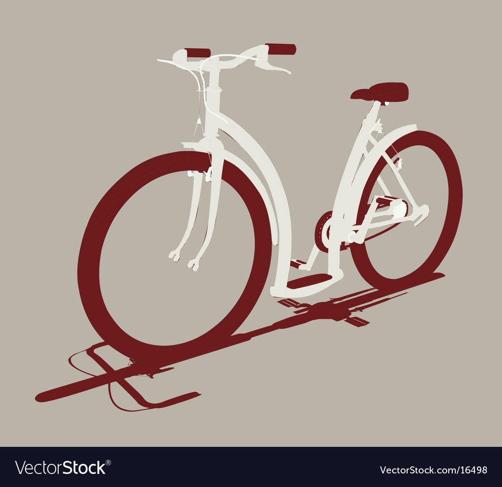 Cycle front view vector | Price: 1 Credit (USD $1)