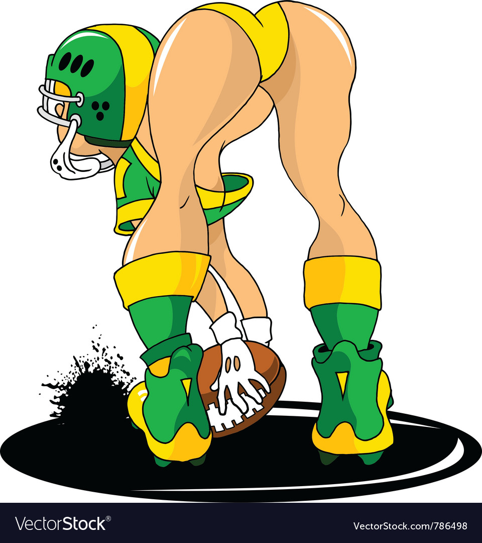 Lingerie football vector | Price: 1 Credit (USD $1)