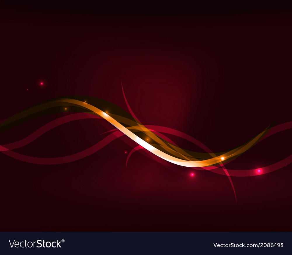 Neon glowing lines abstract background vector | Price: 1 Credit (USD $1)