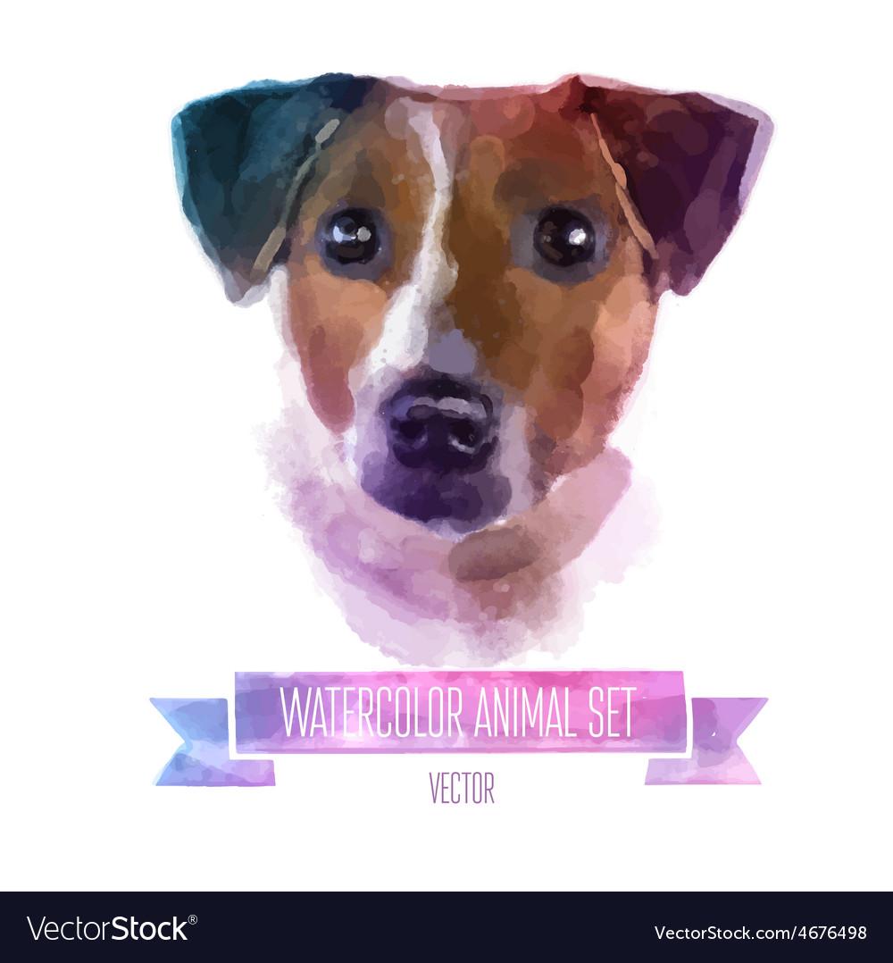 Set of watercolor  cute jack vector | Price: 1 Credit (USD $1)