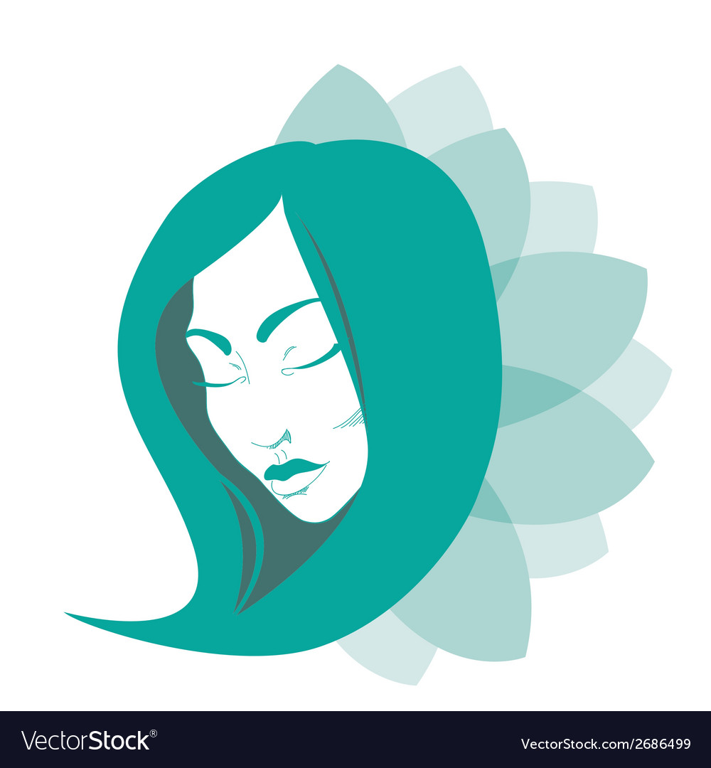 Beauty woman vector | Price: 1 Credit (USD $1)