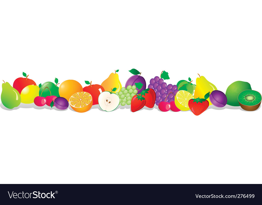 Fruit series vector | Price: 3 Credit (USD $3)