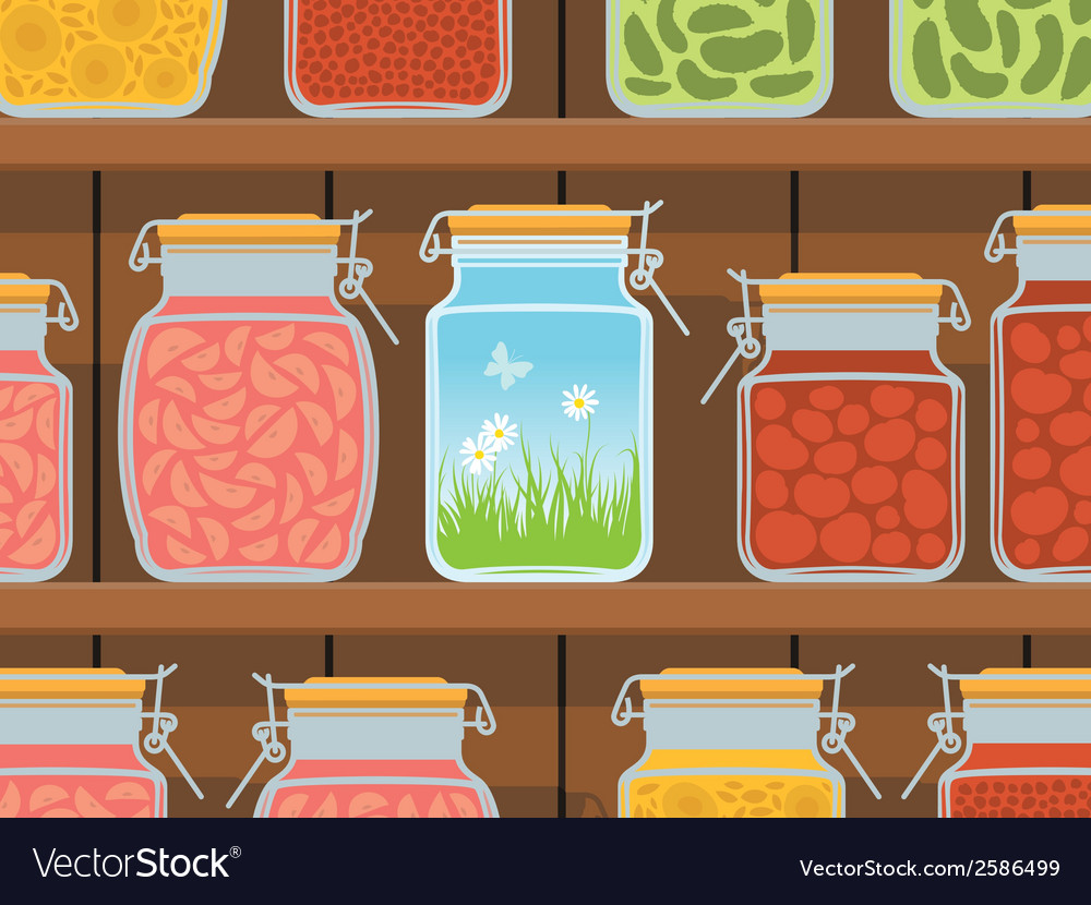 Summer in the jar vector | Price: 1 Credit (USD $1)