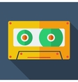 Modern flat design concept icon tape recorder vector