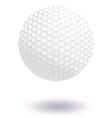 Golf ball vector