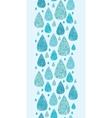 Rain drops textured seamless pattern background vector