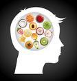 Think food vector
