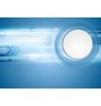 Hi-tech blue background vector