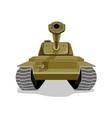 World war two battle tank vector