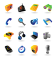 Realistic icons set for various devices vector