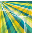 Retro burst abstract background vector