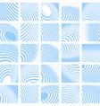Abstract backdrops set vector