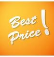 Best price paper background vector