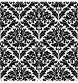 Monochrome damask seamless vector