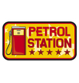 Petrol station vector