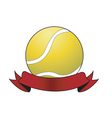 Tennis ball award vector