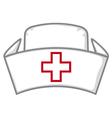 Nurse cap vector