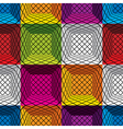 3d boxes seamless pattern vector