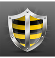 Shield safety vector