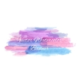 Abstract artistic watercolor banner vector