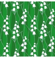 Lily of the valley seamless vector
