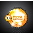 Bubble abstract shiny background vector