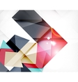 Abstract shapes background with light vector