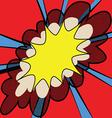 Grunge comic cartoon effects vector