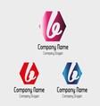 B letter logo - symbol letter b vector