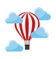 Balloon air hot vector