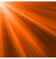Orange luminous rays vector