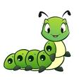 Cartoon caterpillar vector