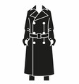 Woman cloak vector