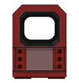Artwork old tv vector
