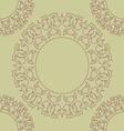 Rosette pattern vector