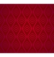 Seamless red retro pattern background vector