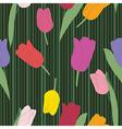 Tulips pattern vector