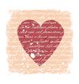 Romantic design template vector