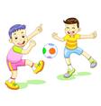 Playfootball vector
