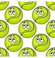 Tennis ball seamless pattern vector