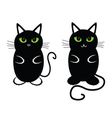 Funny and sweet cat vector