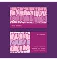 Pink ruffle fabric stripes horizontal stripe frame vector