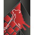 Sport poster series polo vector