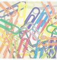 Paper clip background vector
