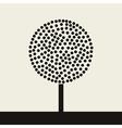Round tree vector