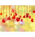 Beautiful valentine day card vector