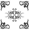 Tribal tattoo pattern vector