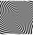 Design monochrome whirlpool movement background vector