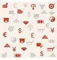 Finance seamless pattern 2 vector